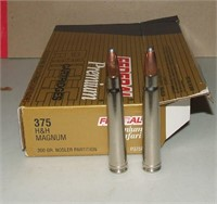 20 Round Box Of Federal 375 H&h Mag