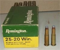 50 Gr  Box Of Remington 25-20