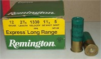 25 Round Box Remington 12 Ga
