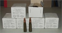 6 - 20 Round Boxes Russian 7.62x39