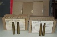 5 - 20 Round Boxes Of Us 30 Cal Brass