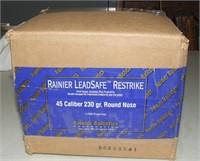 1000 Rainier  45 Cal Lead Safe Bullets