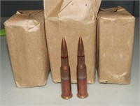 4 - 20 Round Packs Of Russian 7.62x54r Ammo