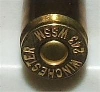 Winchester .243  Wssm  Psp