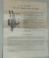 Lyman Ideal Lubricator And Sizer No 45