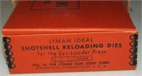 Lyman Ideal 12 Shot Shell Reloading Dies.