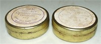 Two Old Tins Of Ideal Size Ezy
