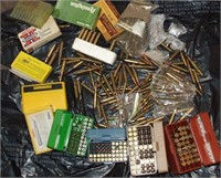 Large Lot Of Commercial Rifle Ammo
