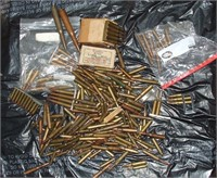 Large Lot Of Old Military Ammo