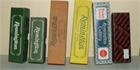 6 Empty Remington And Winchester Knife Boxes