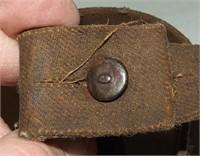Japanese Short Rifle Rubberized Canvas Sling.