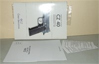 CZ 40 Factory Manual and related papers