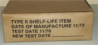 Grease Rifle Tubes, Full 144 Count Box.