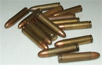 15 Rounds of WW2 US 30 Carbine Ammo
