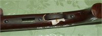 Winchester Model 75 Stock and Medal