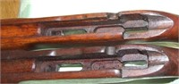 2 WW 2 22 US Military Training Rifle Stocks