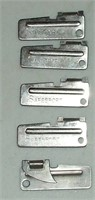 5 P-38 Type Can Openers
