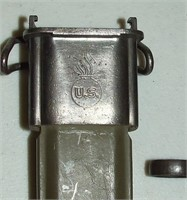 WW2 M1 Garand Bayonet, UFH 1942 & Scabbard