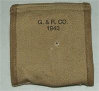 2 WW2 30 Cal M1 Carbine Clips & Case