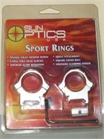 Sun Optics 1 Inch Split Rings
