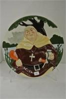 "Davenport ""Friar Tuck"" Collector Plate"
