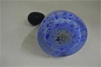 Blue Caithness Atomizer Perfume Bottle