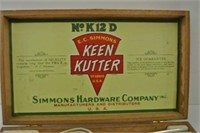 "Vintage ""Keen Kutter"" Triple Plate Set"