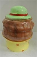Vintage Clown Cookie Jar