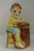 Vintage Child Cookie Jar