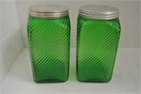 Owen-Illinois Hoosier Glass Jars