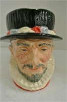 "Royal Doulton ""Beefeater"" Toby Jug"