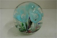 Floral Paperweight