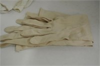 Antique Ladies Long Evening Gloves