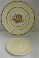 King George and Queen Elizabeth 1939 Plate Lot