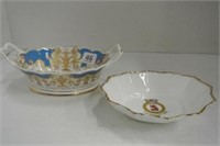Golden Jubilee 2002 Queen Elizabeth Handled Dish L