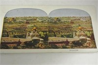 """Antique """"Key Stone View Co"""" Stereoscope & Cards"""