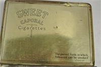 """Sweet Caporal"" Cigarette Tins"