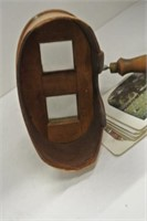 "Antique ""Key Stone View Co"" Stereoscope & Cards"