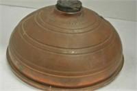 "Copper ""Wafax"" Antique Bed Warmer"