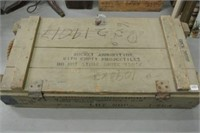 Military Rocket Ammunition Crate