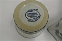 Louisville Stoneware Cream & Sugar