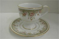 Teacup & Saucer Lot (Including Royal Albert)