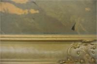"""""""Franz Johnston"""" Framed Oilette"""