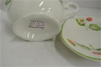 """""""Old Foley"""" Strawberry Sauce Plate Lot"""