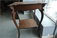 Antique Table w/Lower Shelf