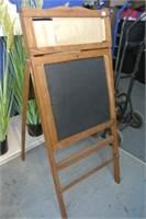 Vintage Childs Chalkboard/Desk