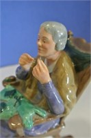 "Royal Doulton ""A Stitch in Time"""