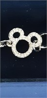 """Swarovski"" New Mickey Mouse Bracelet"