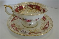 Royal Crown Derby Teacup and Saucer