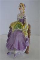 "Coalport ""Barbara"" Figurine"